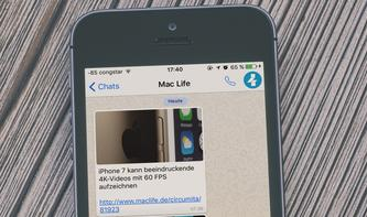 Der WhatsApp-Service der Mac Life: Jetzt die wichtigsten News frei Haus!