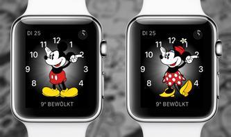 watchOS 3: So sagt Ihnen Micky Maus die Zeit an