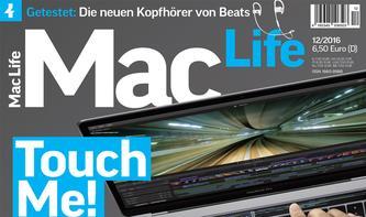 In eigener Sache: Mac Life 12/2016 - top-aktuell (und deshalb eine Woche später)