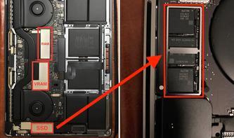 MacBook Pro mit Touch Bar kommt ohne wechselbare SSD