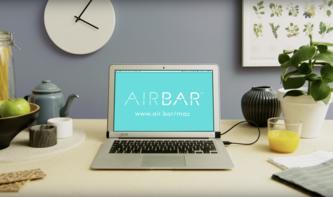 MacBook Air mit Touchscreen? Mit AirBar kein Problem