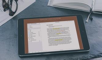 Für die schreibende Zunft: Scrivener für iPad und iPhone stark reduziert