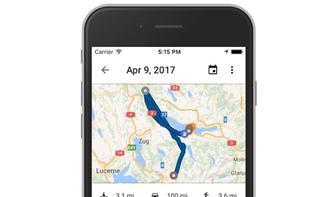 Zeitachse in Google Maps: So schützen Sie Ihre Privatsphäre
