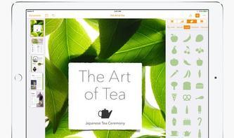Pages, Numbers und Keynote erhalten Shapes, Kommentar- und Ersetzen-Funktion
