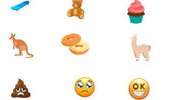 Neue Emojis: Stirnrunzelnder Kackhaufen und Gesicht mit Partyhut