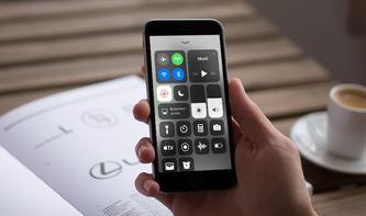 Fußnote zum Kontrollzentrum in iOS 11: Bluetooth und WLAN nicht komplett deaktiviert