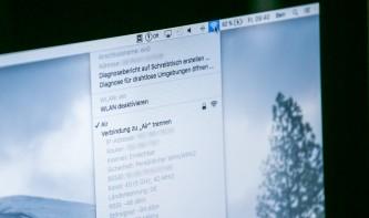 So trennen Sie eine WLAN-Verbindung am Mac - ohne WLAN-Deaktivierung