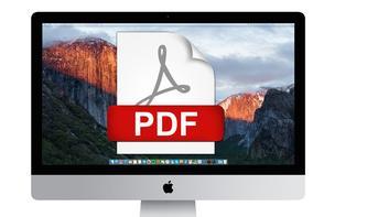 So leicht erstellen Sie eine PDF aus einer Webseite, einem Foto oder oder anderen Inhalten am Mac