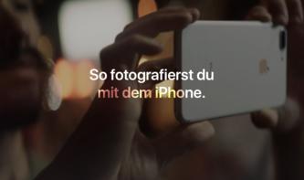 """""""So fotografierst du mit dem iPhone"""": Apple veröffentlicht Tutorials nun auch in deutsch"""