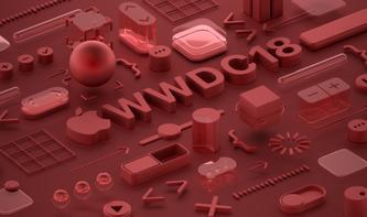 Einladung zur WWDC 2018 als Wallpaper