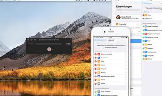 Bildschirmvideos von Mac, iPhone und iPad aufzeichnen - so geht's!