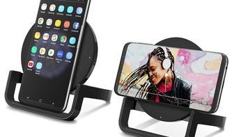 Belkin: 10-Watt-Ladeschale für iPhones mit Extra-Kniff