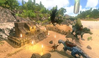 Mit Dinosauriern in einer offenen Spielwelt auf iPhone und iPad