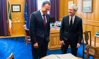 Apple-CEO Tim Cook setzt Europa-Reise in Irland fort
