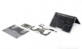 iFixit zerlegt das neue MacBook Pro 2018 mit Touch Bar