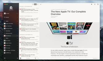 Beliebter Feedreader Reeder 3 für iOS und macOS gratis