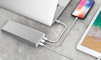 Hyperjuice USB-C Akku lädt sogar das MacBook Pro auf