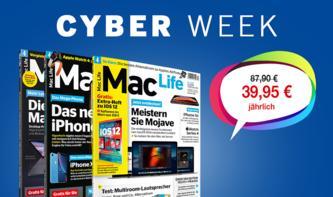 Besser als Black Friday: Jetzt das Mac-Life-Abo zum Knallerpreis im Cyber-Week-Sale sichern