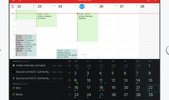 Alternativen zu Apples Kalender auf dem iPad