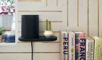 Offizielle Accessoires: Sonos verkauft Wandregal und Standfüße für Sonos One und Play:1
