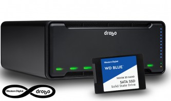 Drobo 8D: Einfacher, schneller und sicherer Massenspeicher von Storage-Experten
