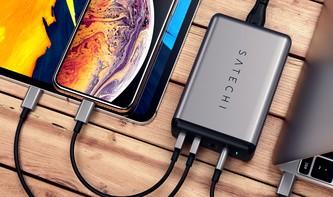 Satechi stellt neue USB-C-Reiseladegeräte für alle MacBook-Modelle bereit