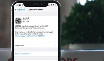 Apple veröffentlicht finale Version voniOS 12.2