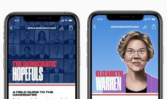 Apple mischt sich in den US-Wahlkampf ein: Apple News als vertrauenswürdige Nachrichtenquelle